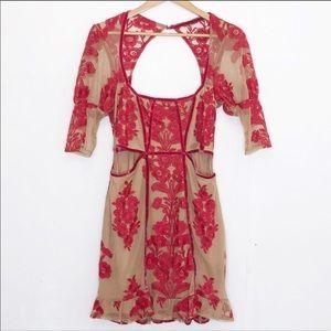 For Love & Lemons temecula fall mini dress